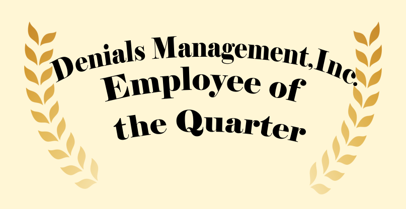 Employee of the Quarter: 2018 Q3